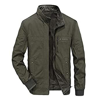 Mr.Macy Men Autumn Winter Wear Cotton Jackets On Both