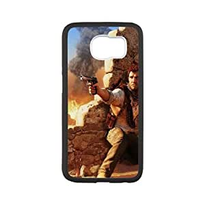 uncharted Samsung Galaxy S6 Cell Phone Case White phone component AU_604730