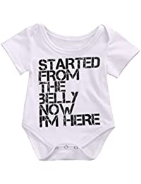 Ma&Baby Newborn Infant Kids Baby Boy Girl Romper Bodysuit...