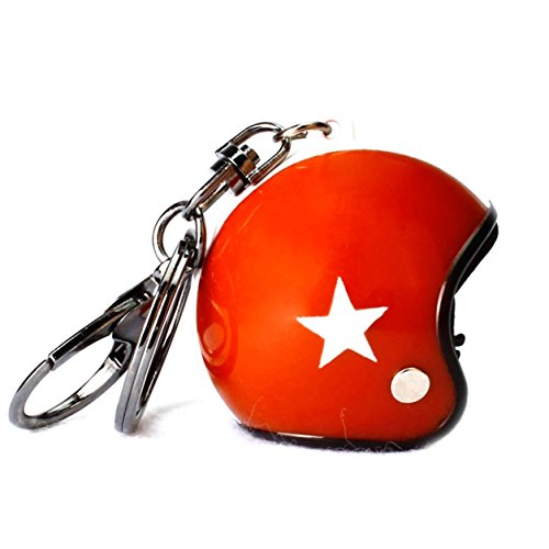 (1 Pc Mini Pocket Motorcycle Helmet Keychain Keyring Keyfob Classic Sport Events Pendant Key Chain Ring Fob Tag Holder Finder Necklace Cool Popular Cute Wristlet Utility Keychains Tool Gift, Type-04)