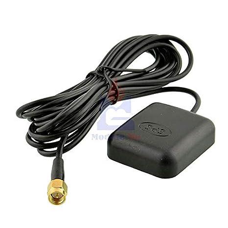 Amazon.com: Receptor GPS antena 3M SMA enchufe coche GPS ...
