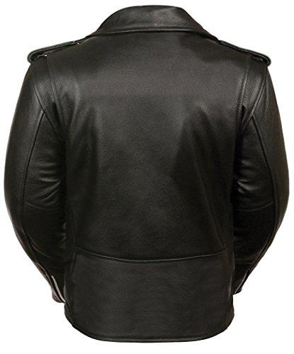 Milwaukee Women's Full Length Motorcycle Jacket (Black, 4X-Large) by Milwaukee (Image #1)