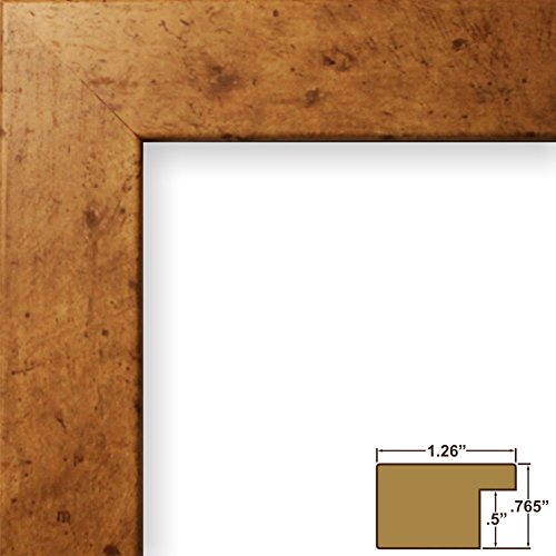 Craig Frames 26032 8.5 by 11-Inch Picture Frame, Smooth Wrap Finish, 1.25-Inch Wide, Light Maple Brown