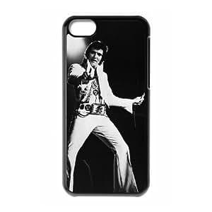 iPhone 5c Cell Phone Case Black Elvis Presley dtv