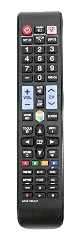 - New AA59-00652A Replaced Remote fit for Samsung 3D LED LCD HDTV TV AA5900652A UN40ES6100 UN46ES6100 UN55ES6100 UN60ES6100 6100 Series