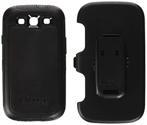OtterBox Defender Series for Samsung Galaxy S III - Retail Packaging - Black ()