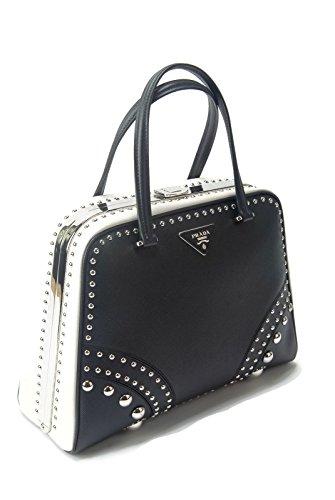 a327e7b8117b Prada Saffiano Strap Hand Bag Cuir Leather Block Color – Birkin Bag ...