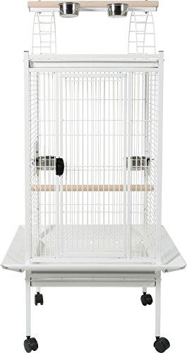 ZOLUX kambela Jaula Loro para pájaro Blanca 76 x 76 x 151 cm ...