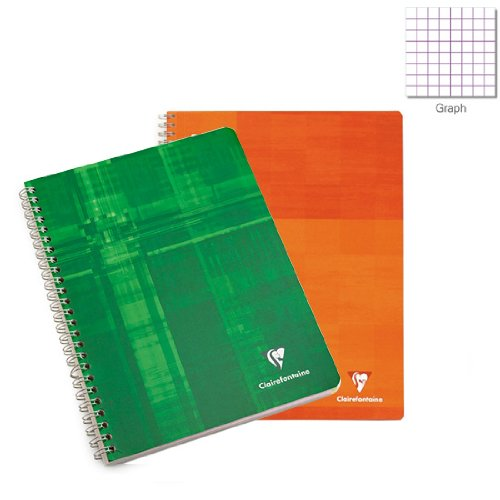 Exaclair Clairefontaine Notebook Wirebound Multiple