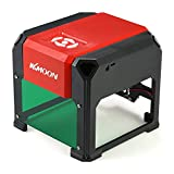 KKmoon Automatic K5 Type Brand New 3000mW High Speed Laser Engraving Machine USB DIY Carving Engraver Handicraft Wood Burning Tools with 80 * 80mm Large Engraving Area for Win XP/7/8/10