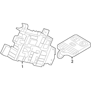 Amazon Com Genuine Ford Dl3z 15604 A Door Lock And Alarm Module