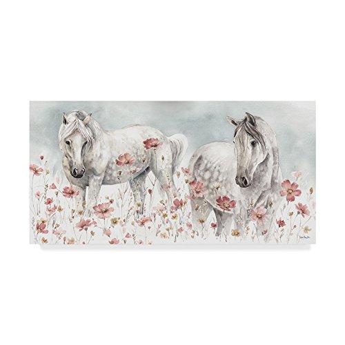 Trademark Fine Art Wild Horses III by Lisa Audit, 24x47, - Art Horse Fine