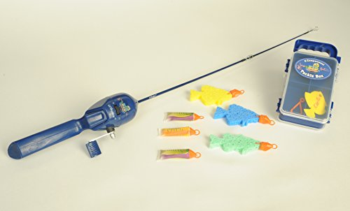 Kid casters fishing kit for Kids fishing gear