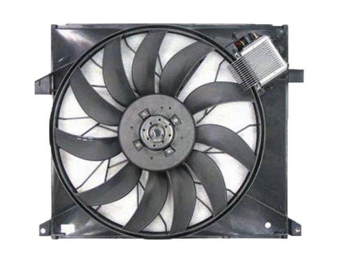 Mercedes Benz Ml 55 Amg 00-03 Ml 500 02-05 Cooling Fan 163500 0293 0393