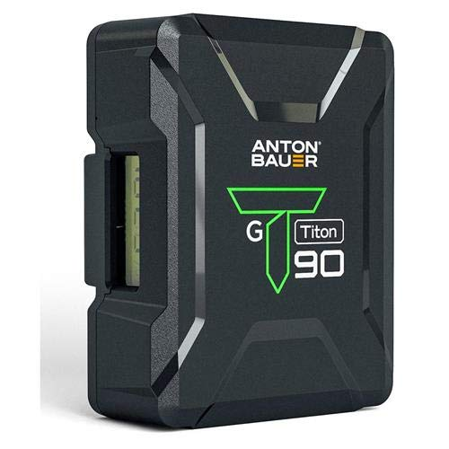 Anton Bauer Titon 90 14.4V 92Wh Gold Mount Lithium-Ion Battery by Anton Bauer