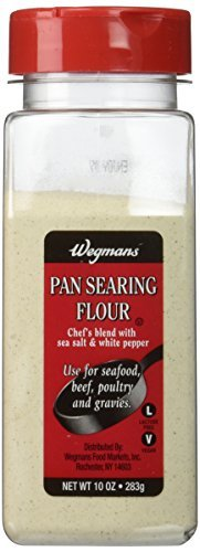 Wegmans Pan Searing Flour, 10 Ounce, (Pack of 2) by Wegmans
