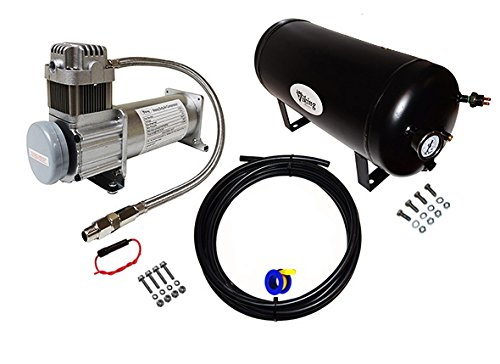 Viking Horns V103C/1006ATK 5 Gallon Air Tank and 200 PSI Air Compressor Kit
