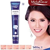 Melaklear White Melasma Brightening Cream, Dark Spot and Freckles Remover Cream SPF 15 Results in 11 Days 30g. : 2 Packs by Mistine