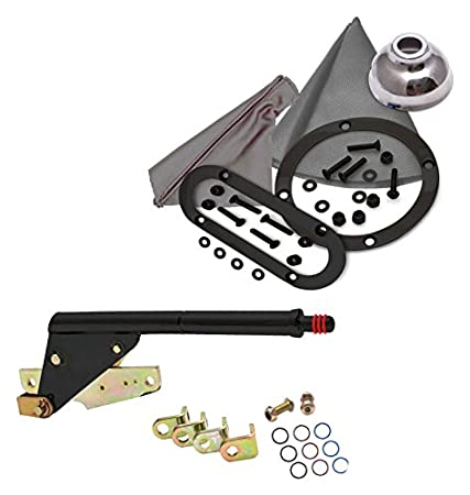 American Shifter 406180 4L60 Shifter Kit 10 E Brake Cable Clamp For D772A