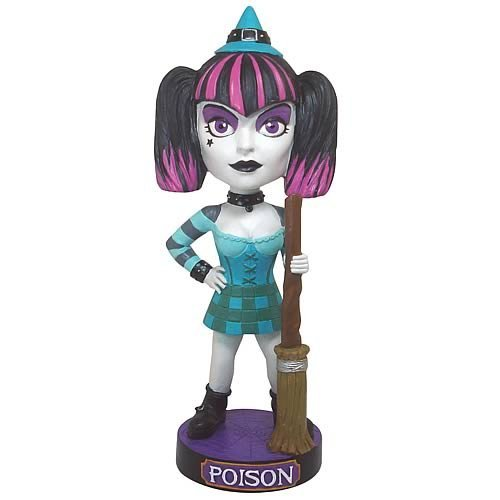 Classic Favorites Goth Witch Bobble Head ()