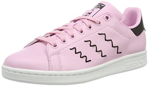 wonder Mode core Black Pink Stan Smith Baskets Adidas Rose Pink wonder Femme wBYqtPv4x