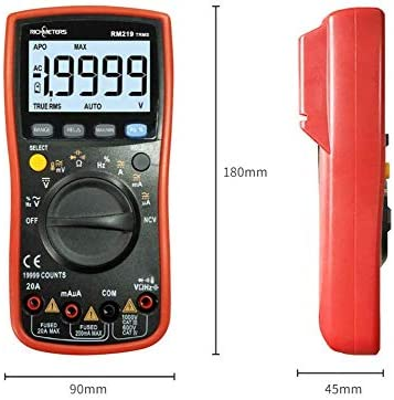 ZJN-JN Multimeter Digital high-Precision Automatic Electrician Repair Table Four and a Half Multi-Function Electrical Testing Voltage Testers