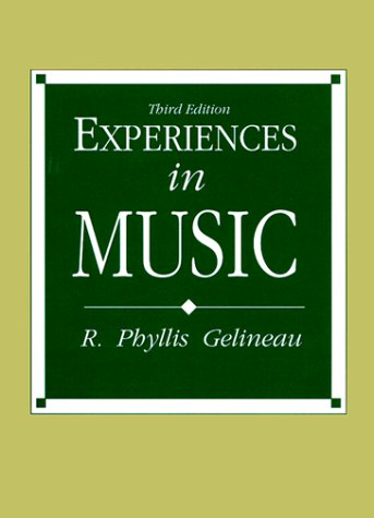 Experiences in Music (3rd Edition)