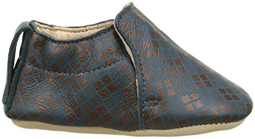 Easy PeasyBlumoo Argyle - Zapatos de Bebé Bebé-Niños Bleu (Canard/Cuivre)