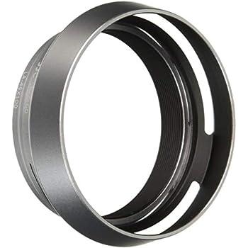 Amazon Com Jjc Lh Jx100 Silver Metal Lens Hood Adapter