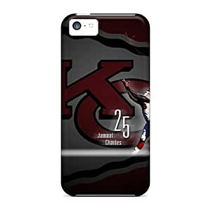 Cases-best-covers Iphone 5c Shockproof Hard Cell-phone Cases Custom Nice Kansas City Chiefs Series [IYP24028VOwx]