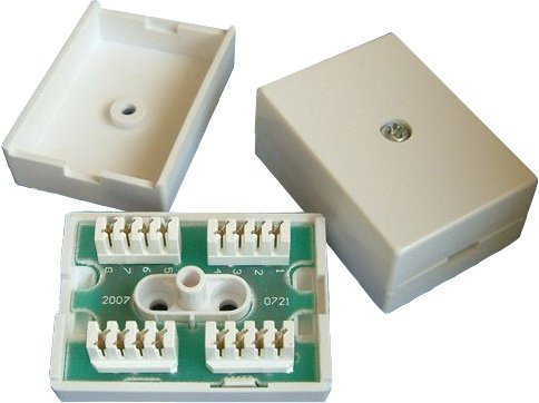 Terminal Block 78A Inline IDC Coupler Junction Box ADSL Extension Comlynx TLX-C-TB-78A