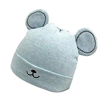 Oi Peiceko foderato in cotone bambino cappello invernale neonato spessore caldo cappello 1 pezzi 1 Blue Oi_peiceko