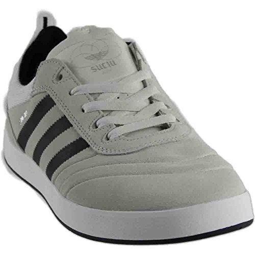 adidas Suciu ADV (Crystal White/Black/Silver Metallic) Men's Skate Shoes