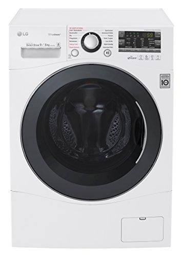 LG Electronics F14A8FDH2NH Waschtrockner / 1,224 kWh / 14 vorprogrammierte Programme / weiß