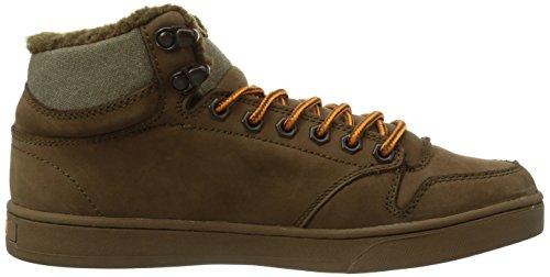 C1RCA Lurker Unisex-Erwachsene Hohe Sneakers Braun (PCVOF/ PINECONE/ VIBRANT ORANGE)