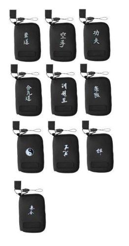 Handytasche oder MP3-Player Tasche aus Neopren, Motiv Aikido