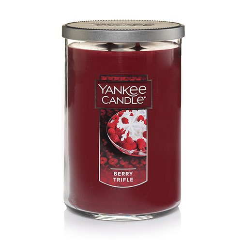 Yankee Candle Large 2-Wick Tumbler Candle, Berry Trifle
