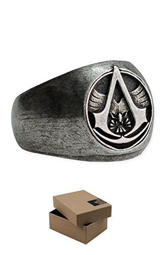 Assassin's Creed Master Assassin Ring Official Ubisoft Collection by Ubi Workshop ()