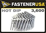 """1 3/4"""" Smooth A153-D HOT DIP Coil Roofing Nails"""
