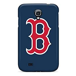 Faddish Phone Baseball Boston Red Sox 5 Case For Galaxy S4 / Perfect Case Cover