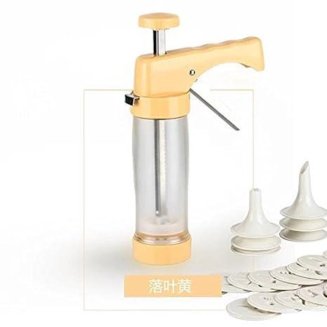 KOONN Boquillas de tubería para Hornear en el hogar Molde de Galletas máquina de Hacer Galletas Herramienta de Flor máquina Pistola Flor Bolsa de Pastel ...
