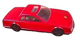 Kinyo VHS Videotape Rewinder. Model UV-610 VHS. Color: Red