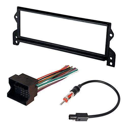 MINI COOPER/ COOPER S 2002-2008, MINI COOPER CONVERTIBLE 2008 CAR STEREO RADIO CD PLAYER RECEIVER INSTALL MOUNTING KIT WIRE HARNESS