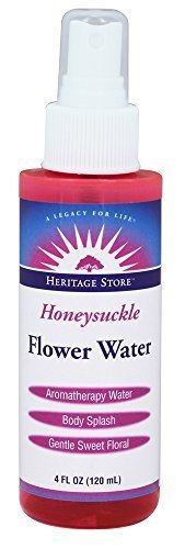 Honeysuckle Flower Water Heritage Store 4 fl oz Spray