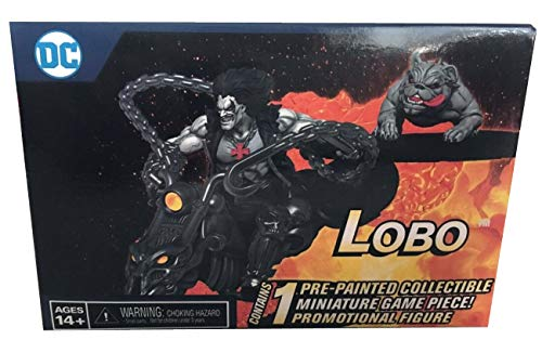2019 SDCC Exclusive Heroclix Lobo On Bike with Dawg Miniature Game Piece (Best Of Wizkid 2019)