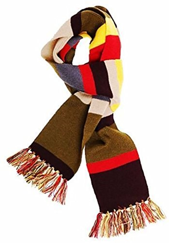 Dr Who 4th Doctor Striped Scarf (Doctor Who 4th Doctor Scarf)