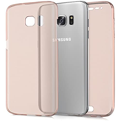 kwmobile crystal case for Samsung Galaxy S7 edge full body TPU silicone case - full transparent protective case Sales