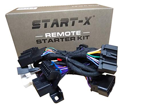Start-X Remote Starter Kit for Ford F-150 11-14 || F-250 11-16 || F-350 11-16 || F-450 11-16 || F-550 11-16 || Focus 12-15 || Edge 11-14 || Expedition 15-17 || Explorer
