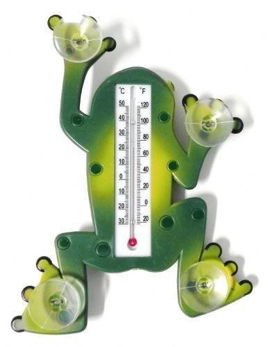 Frog Shape Thermometer with Suction Cups