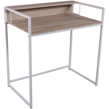 Acme Fahd Desk, Birch and White